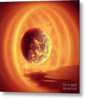 A Whole New World Metal Print by Ester  Rogers