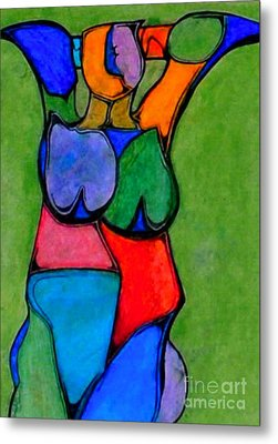 A Womanist Personality Metal Print by Antione Leonard
