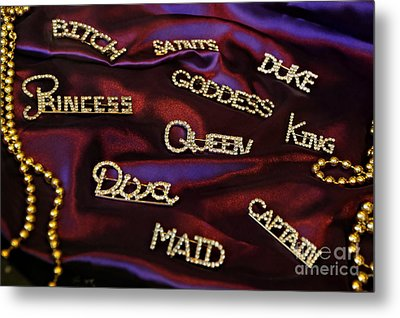 A Woman's Moods And Needs Metal Print by Kathleen K Parker