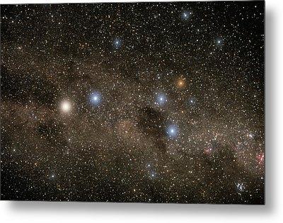 Ab Centauri Stars In The Southern Cross Metal Print by Akira Fujii