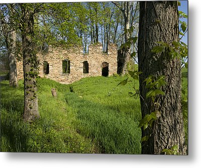 Metal Print featuring the photograph Abandoned Cider Mill by Jim Moore