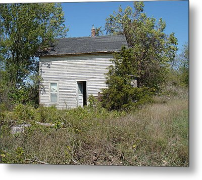 Metal Print featuring the photograph Abandoned by Bonfire Photography