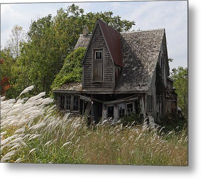 Abandoned Farmhouse 2 Metal Print by Bruce Ritchie