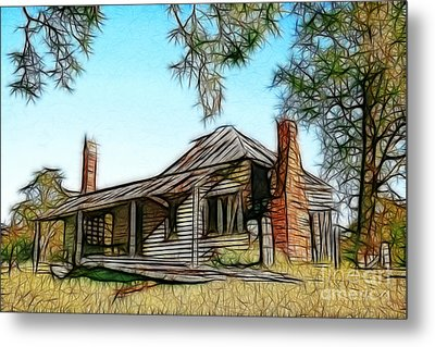 Abandoned Homestead Metal Print by Brian Gunter