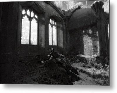 Abandoned Metal Print by Matt Nuttall
