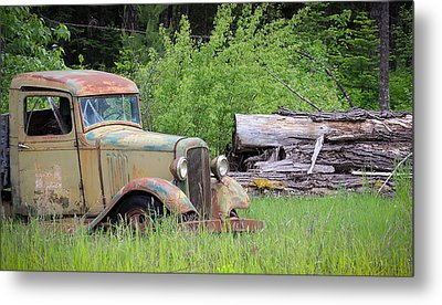 Metal Print featuring the photograph Abandoned by Steve McKinzie