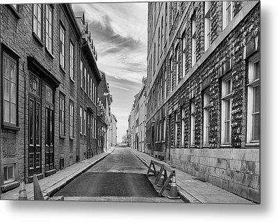 Metal Print featuring the photograph Abandoned Street by Eunice Gibb