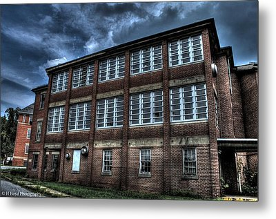 Abandoned Views Metal Print by Heather  Boyd