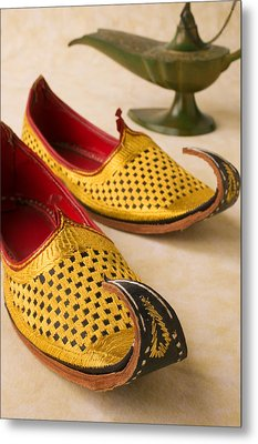 Abarian Shoes Metal Print