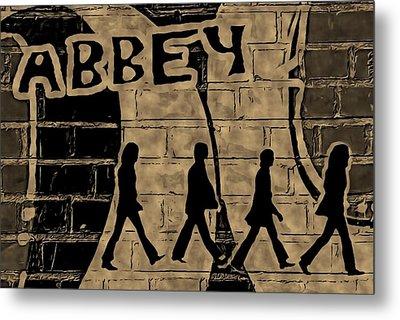 Abbey Metal Print by ABA Studio Designs