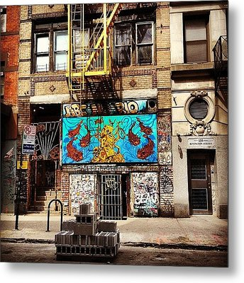 Abc No Rio - Lower East Side - New York City Metal Print by Vivienne Gucwa