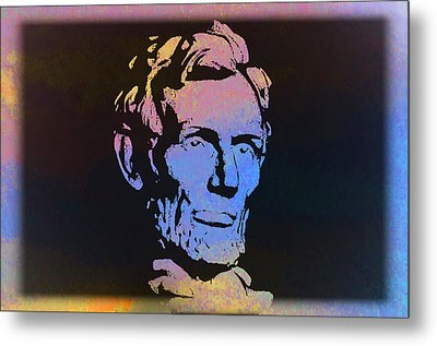 Abe Metal Print by Bill Cannon