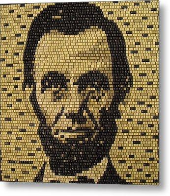 Abe Lincoln Metal Print
