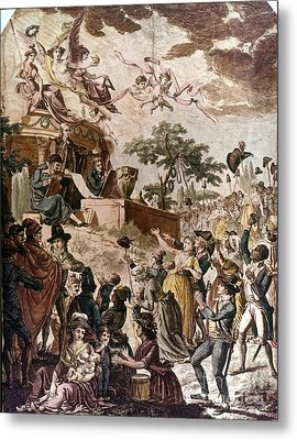 Abolition Of Slavery, 1794 Metal Print by Granger