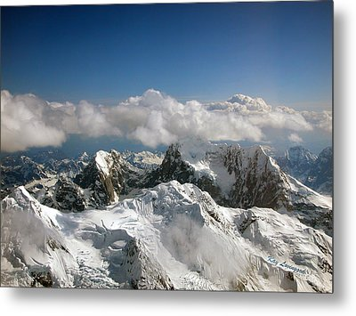 Above Mckinley Metal Print