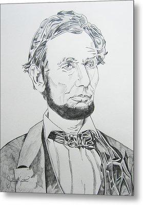 Abraham Lincoln Metal Print by John Keaton