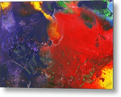 Abstract - Crayon - Andromeda Metal Print by Mike Savad