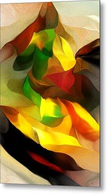 Abstract 080512 Metal Print by David Lane