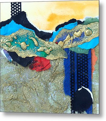 Abstract 2011 No.2  Metal Print by Kathy Braud