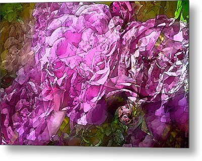 Abstract 274 Metal Print by Pamela Cooper