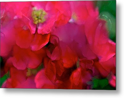 Abstract 277 Metal Print by Pamela Cooper