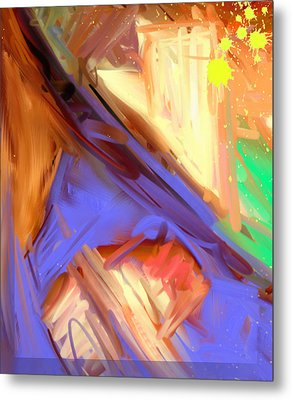 Abstract 4 Metal Print by Snake Jagger