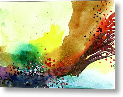 Abstract 5 Metal Print by Anil Nene