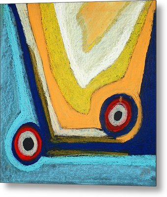 Abstract 54 Metal Print by Sandra Conceicao
