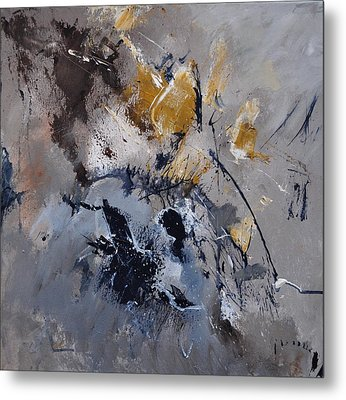 Abstract 5521502 Metal Print by Pol Ledent