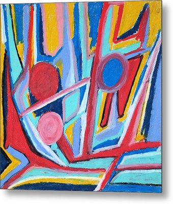 Abstract 59 Metal Print by Sandra Conceicao
