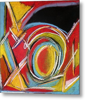 Abstract 9 Metal Print by Sandra Conceicao