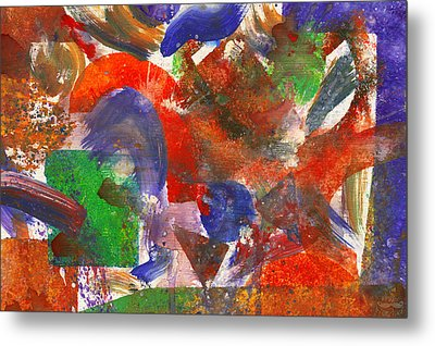 Abstract - Acrylic - Synthesis Metal Print by Mike Savad