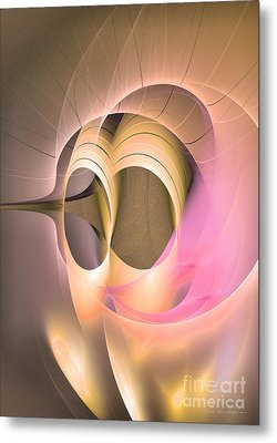 Abstract Art - Dies Laetitiae Metal Print by Abstract art prints by Sipo