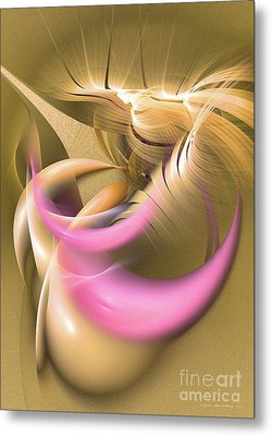Abstract Art - Oasis Metal Print by Abstract art prints by Sipo
