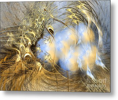 Abstract Art - Seeds Of Peace Metal Print by Abstract art prints by Sipo
