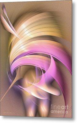 Abstract Art - Tempus Rex Metal Print