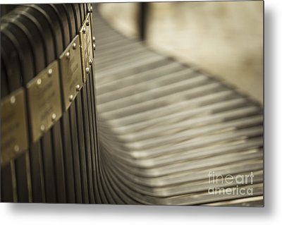 Abstract Metal Print by Clare Bambers