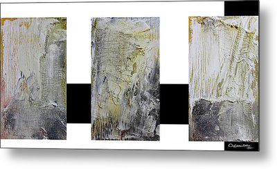 Abstract Collage Metal Print by Xoanxo Cespon