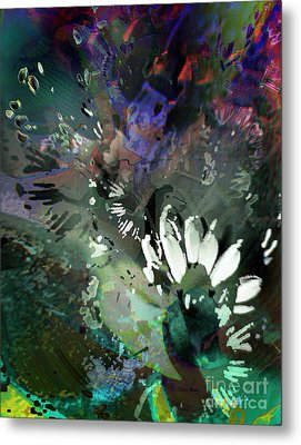 Abstract Dreamscape Number 2 Metal Print by Doris Wood