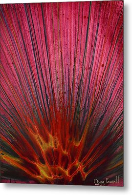 Abstract Flash 1.2 Metal Print