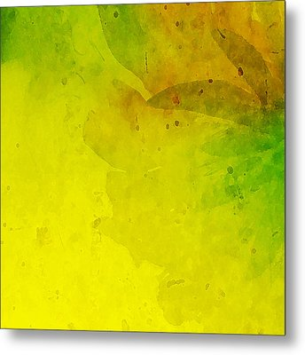 Abstract Floral Metal Print by Bonnie Bruno