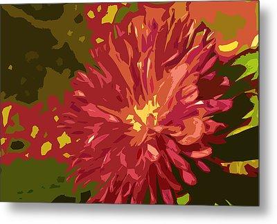Abstract Flower 10 Metal Print