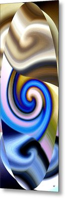 Abstract Fusion 114 Metal Print by Will Borden