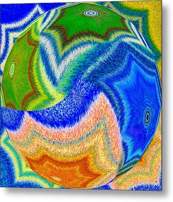 Abstract Fusion 155 Metal Print by Will Borden