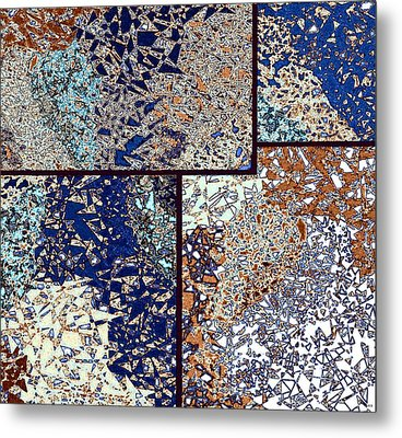 Abstract Fusion 95 Metal Print by Will Borden