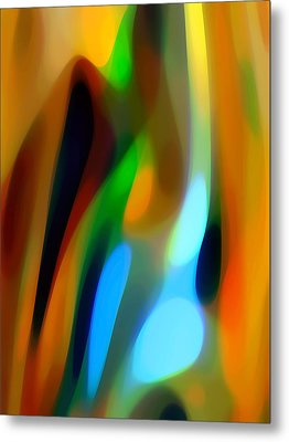 Abstract Garden Light Metal Print by Amy Vangsgard
