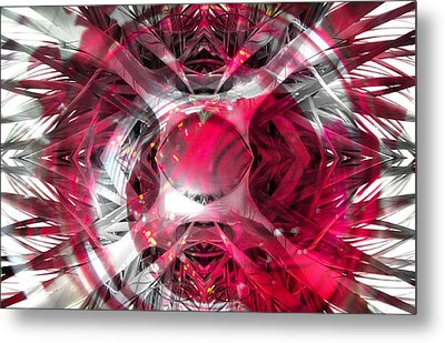 Abstract Image Metal Print by Irene Downing