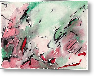 Abstract Landscape 031 Metal Print