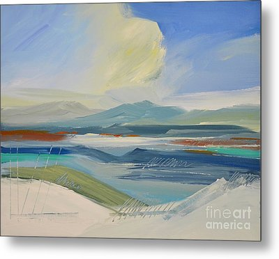 Abstract Landscape No. 2 Metal Print by Barbara Tibbets