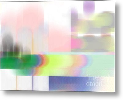 Abstract Landscape Metal Print by Sonali Gangane